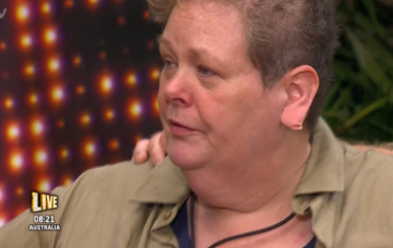 Anne Hegerty during the live IAC trial