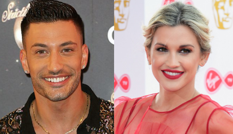 Ashley Roberts and Giovanni Pernice pictured together on social media