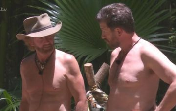 Noel Edmonds and Nick Knowles on IAC