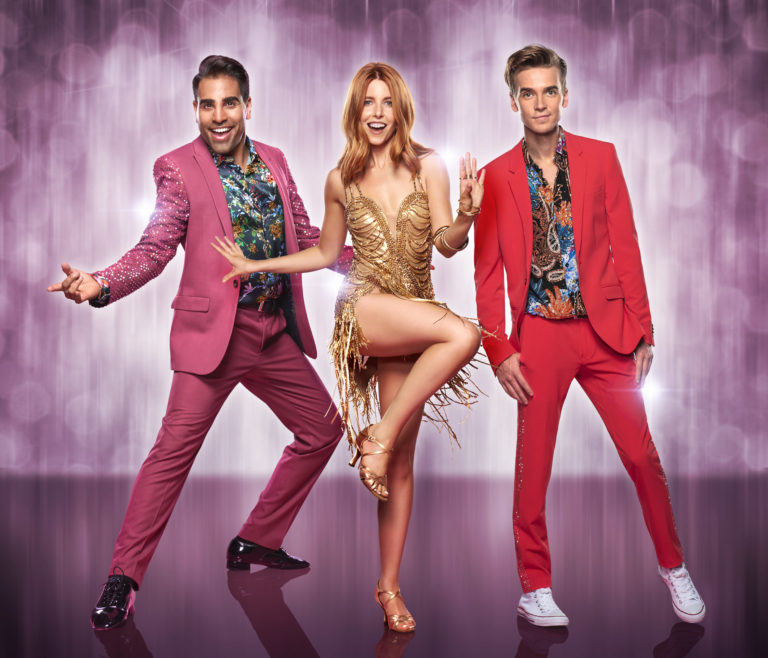 Dr Ranj Singh, Stacey Dooley and Joe Sugg will head out on the Strictly live tour next year (BBC)