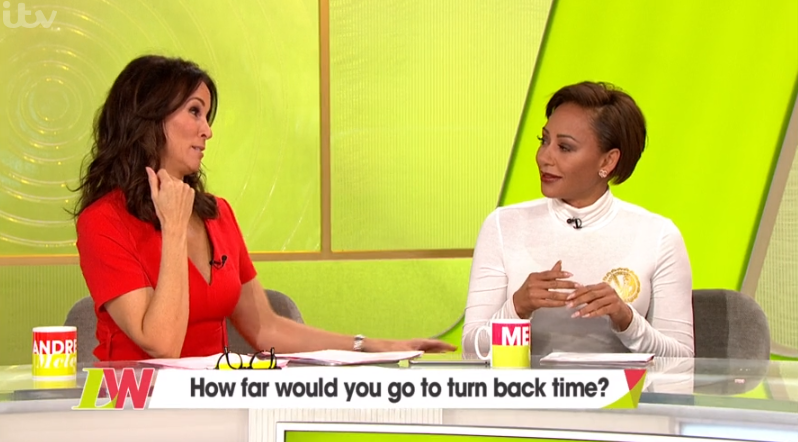 Andrea McLean and Mel B on Loose Women