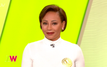 Mel B on Loose Women (Credit: ITV)