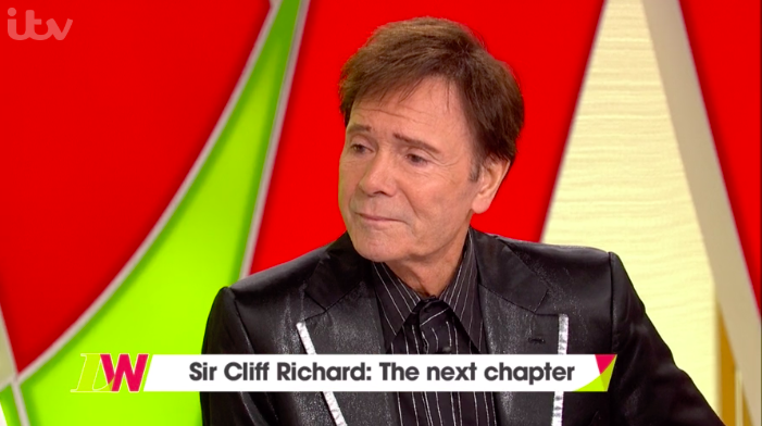 Cliff Richard shocks Loose Women viewers with controversial comment about guilty offenders