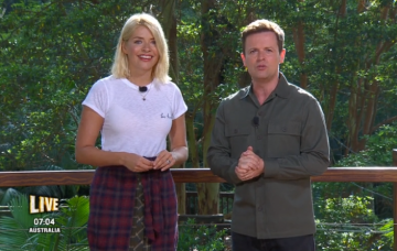Holly Willoughby and Dec Donnelly on IAC