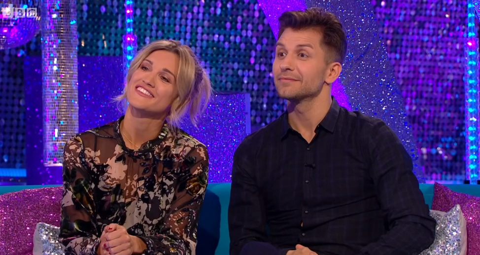 Ashley Roberts and Pasha on It takes Two