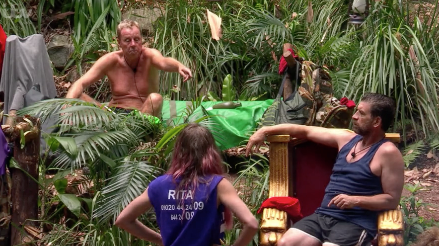 Harry Redknapp shocks I'm A Celeb fans as he finally snaps at Nick Knowles