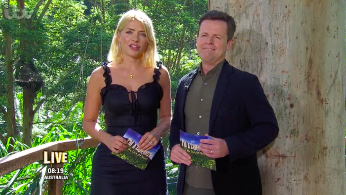 "Viewers bewildered by Holly Willoughby wearing a ""sexy"" cocktail dress in the jungle"