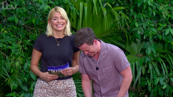 holly willoughby i'm a celeb declan donnelly