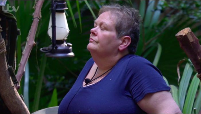 """I'm A Celeb fans angry over campmates """"ignoring"""" Anne Hegerty"""