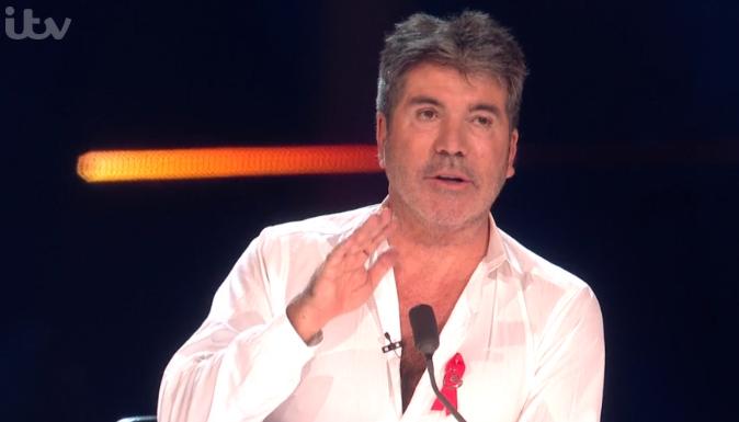 Simon Cowell X Factor ITV