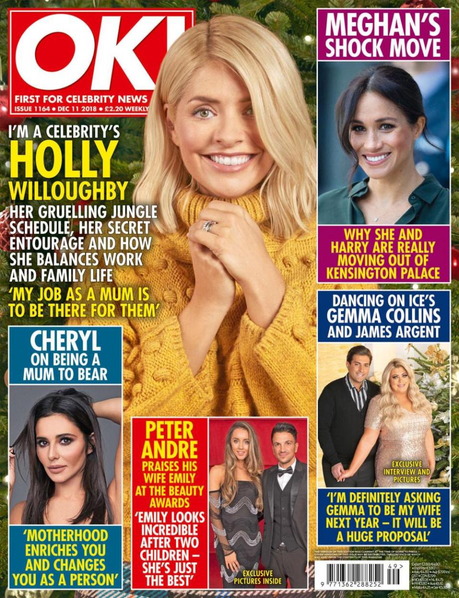 OK! Magazine cover - 3rd Dec