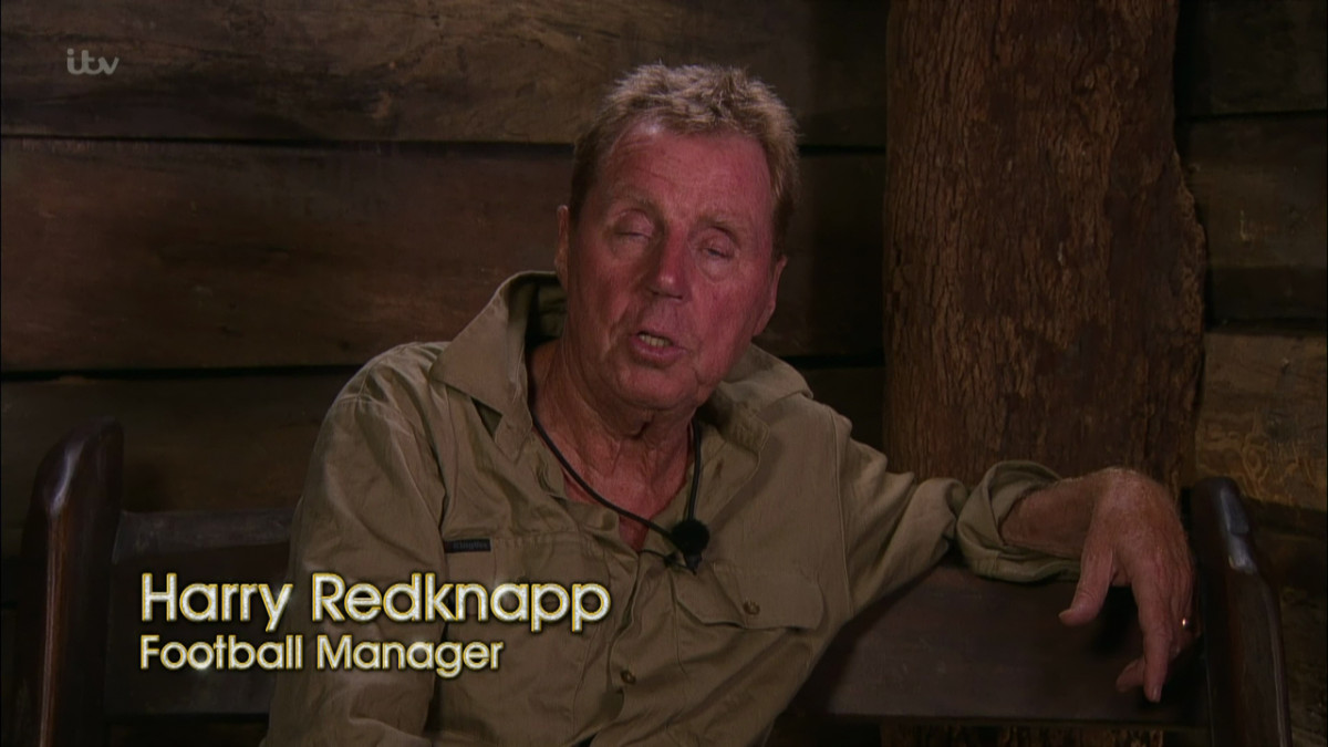 Harry Redknapp on I'm A Celeb