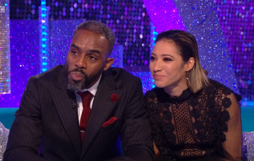 Charles Venn and Karen Clifton on Strictly's It Takes Two