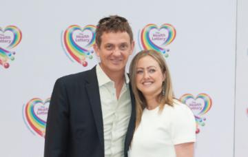 Matthew Wright and wife Amelia