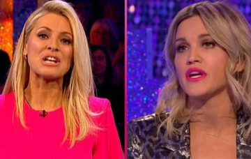 Tess Daly and Ashley Roberts on SCD