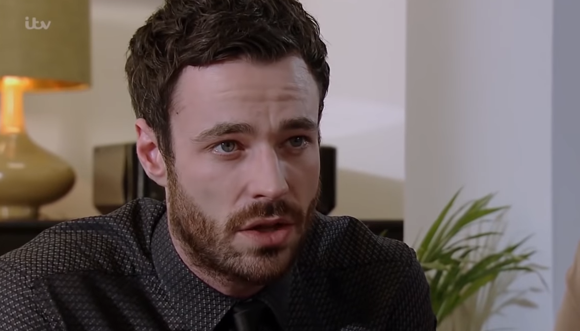 Callum Logan Corrie Credit: YouTube/ITV