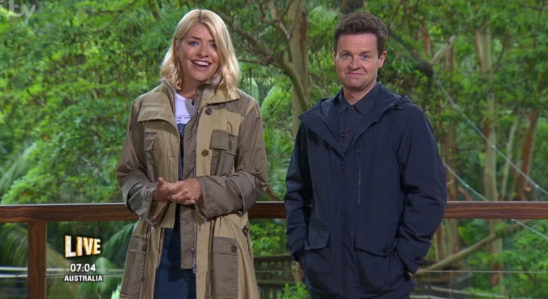 Holly stood in for Ant on last year's I'm A Celebrity