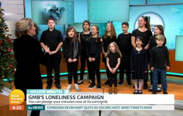 Good Morning Britain grief choir