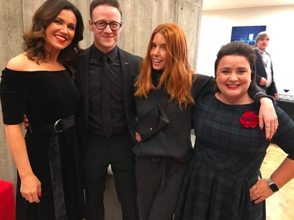 strictly kevin clifton susanna reid susan calman stacey dooley (credit: keviclifton Instagram)