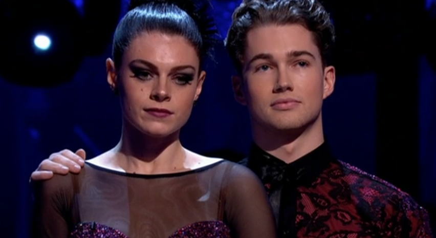 Lauren Steadman and AJ Pritchard were eliminated from Strictly (Credit: BBC)