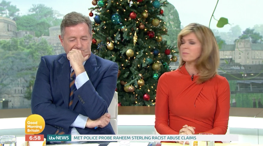 Piers Morgan forced to apologise for latest Good Morning Britain outburst