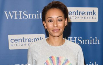 Melanie Brown signs copies of her biography 'Brutally Honest 'at WHSmith Milton Keynes