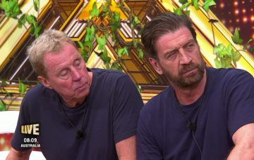 Harry Redknapp and Nick Knowles on IAC