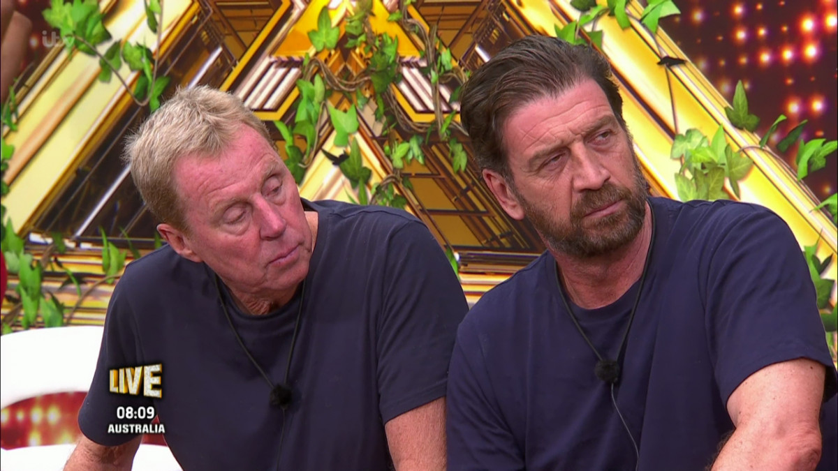 Harry Redknapp sparked stroke fears in the I'm A Celeb jungle