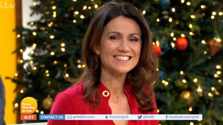 Good Morning Britain presenter Susanna Reid goes nude on