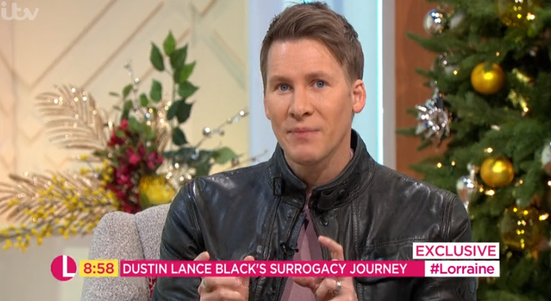 Dustin Lance Black on Lorraine