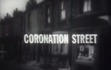 First Corrie opening credits 1960 Credit: YouTube/ITV