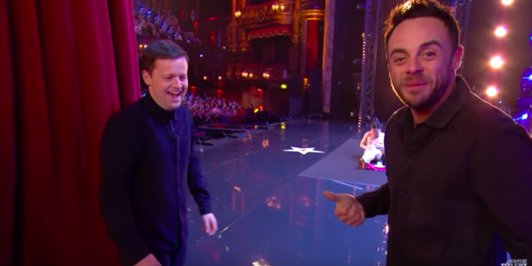 Dec Donnelly and Ant McPartlin on BGT