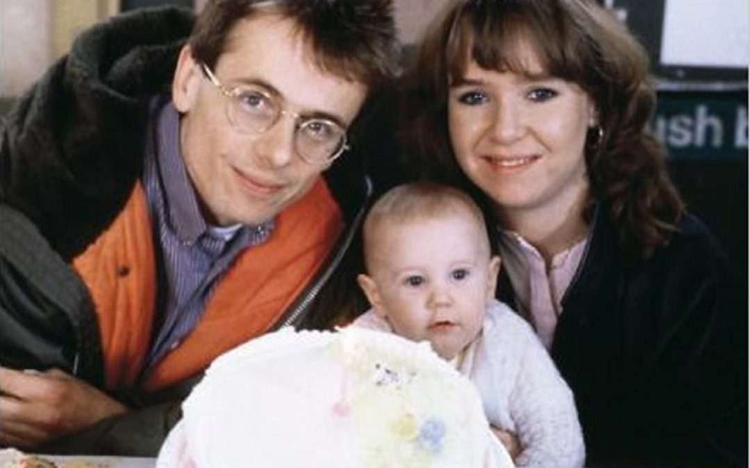 Lofty Holloway and Michelle Fowler in EastEnders (Credit: BBC)