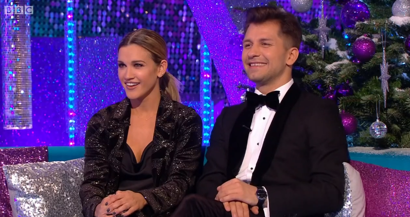 Ashley Roberts and Pasha Kovalev on It Takes Two