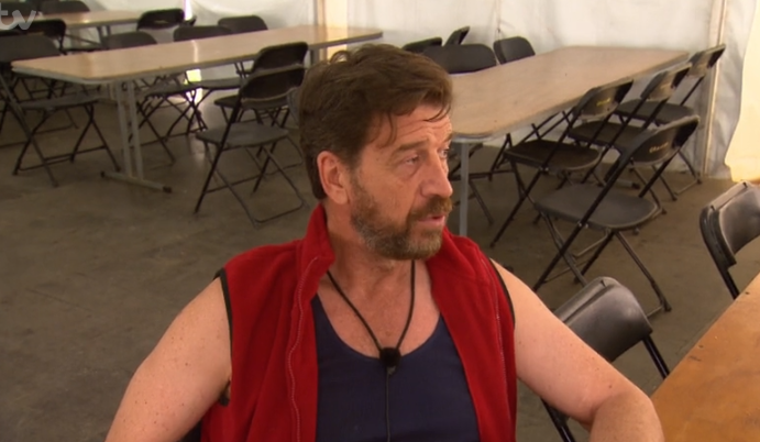 Nick Knowles responds after being accused of fibbing in the I'm A Celeb jungle