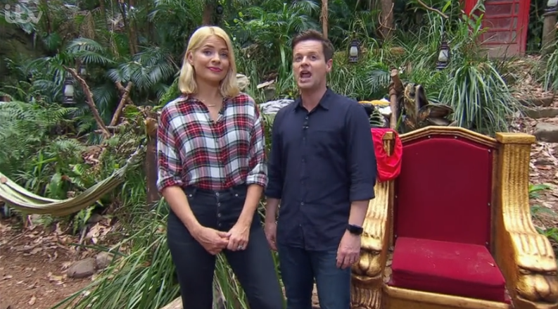 I'm A Celebrity spells Holly Willoughby's name wrong on show
