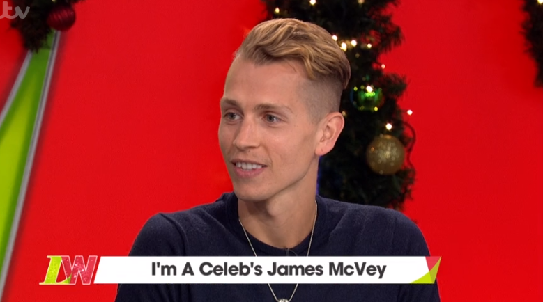 I'm A Celebrity's James McVey to propose to girlfriend with Harry Redknapp's help