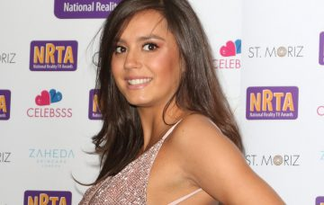 Tyla Carr at the National Reality TV Awards