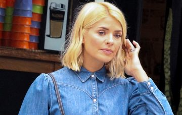 Holly Willoughby Models For A Denim-themed Fashion Shoot On The Streets Of Sydney's Inner City Suburb, Kings Cross