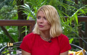 Holly Willoughby on Extra Camp