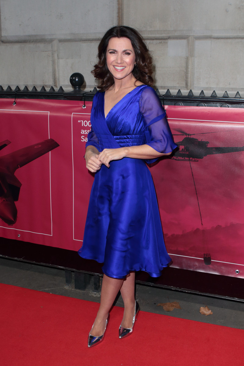 Susanna Reid at the Military Awards (Credit: Splash News)