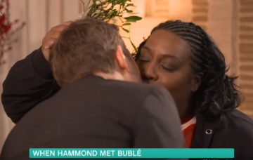 Alison Hammond and Michael Buble on This Morning