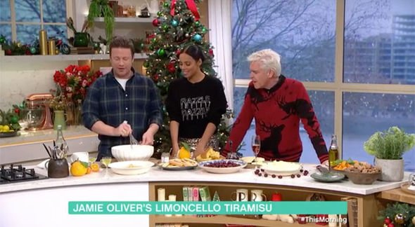 ITV This Morning Jamie Oliver