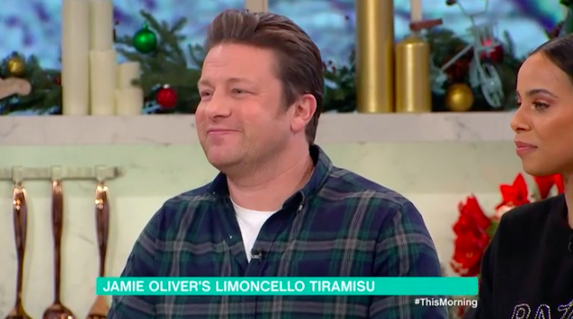 Jamie Oliver on This Morning