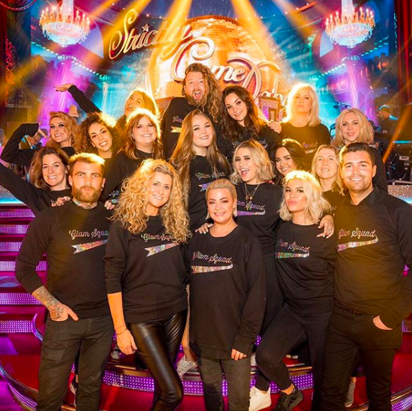 lisa armstrong strictly (credit: lisaamkup Instagram)