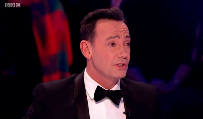 Strictly Come Dancing, Craig Revel Horwood (Credit: BBC iPlayer)