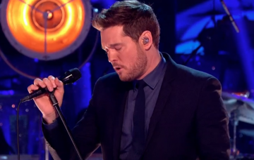 Michael Buble, Strictly Come Dancing (Credit: BBC iPlayer)