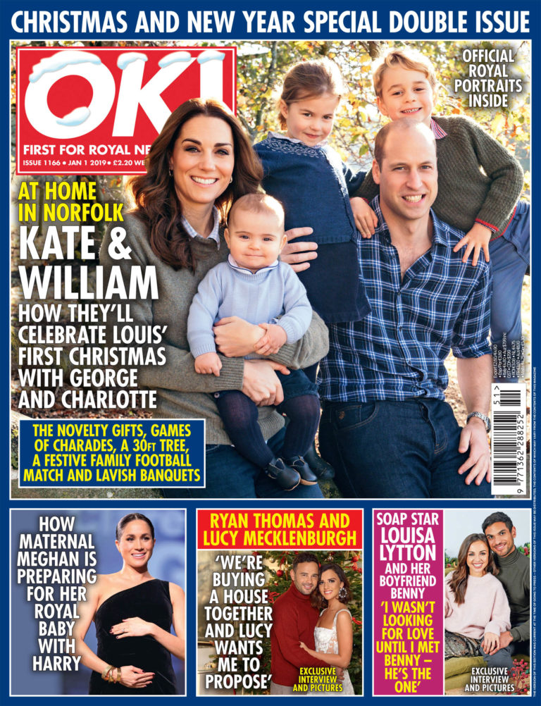 OK! Magazine cover this week