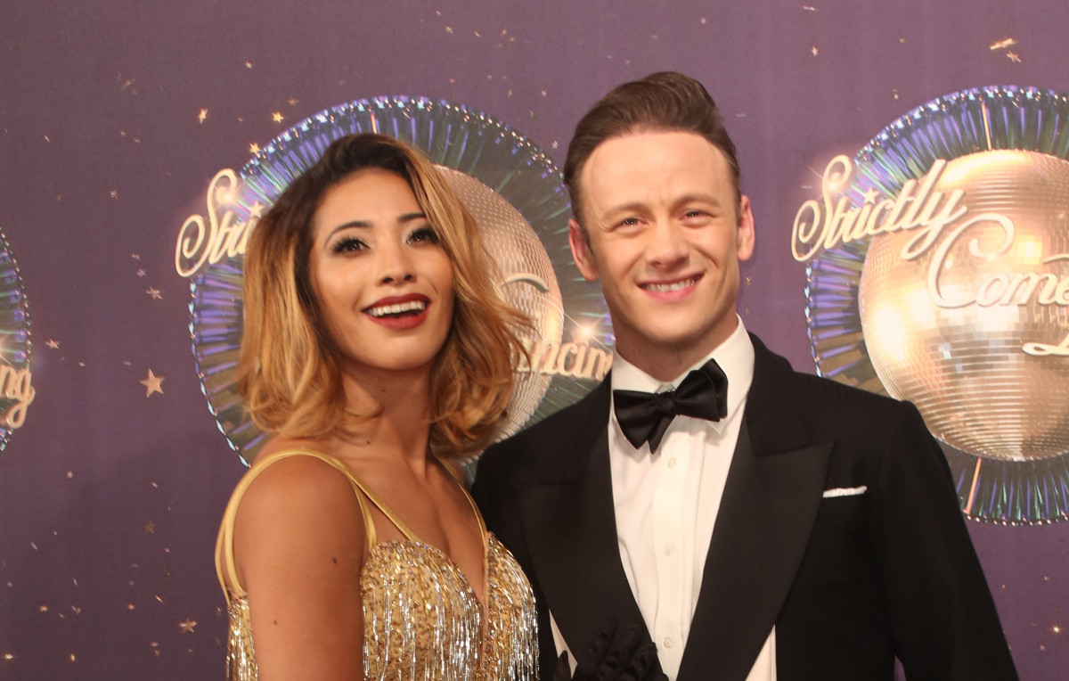 Karen and Kevin Clifton at the Strictly Come Dancing 2017 Launch