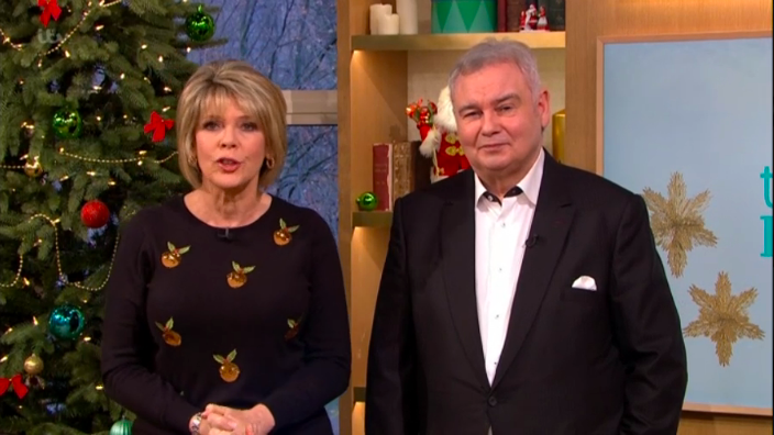 Emily Atack mocks Ruth Langsford and Eamonn Holmes during Loose Women appearance